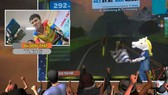 Tay đua Minh Trí đang thực hiện cung đường đua.