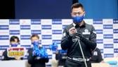 Mã Minh Cẩm tiến vào vòng 16 cơ thủ của giải. Ảnh: Kim Young Hun