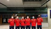 Đội tuyển VIệt Nam đã lên đường vào rạng sáng nay