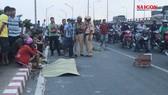 Tai nạn trên cầu Bình Phước 1: 1 người tử vong, 2 người bị thương