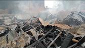 480m2 xưởng nệm mút ở Bình Chánh bị lửa thiêu rụi