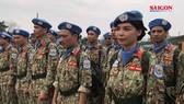 Đoàn quân nhân Việt Nam lên đường đến Nam Sudan