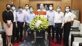 Lãnh đạo TPHCM thăm Báo Sài Gòn Giải Phóng