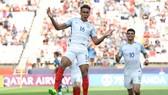 Niềm vui của các cầu thủ Anh khi đè bẹp Argentina 3 bàn trắng