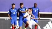 Các cầu thủ Pháp quá mạnh so với Việt Nam (ảnh: ANH KHOA)