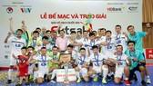 Thái Sơn Nam bảo vệ thành công ngôi vô địch. Ảnh: BẠCH DƯƠNG)