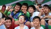 Sân chơi bóng đá Học đường ngày càng thu hút đông đảo các em nhỏ tham gia