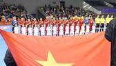 Đội tuyển futsal Việt Nam đặt mục tiêu vào VCK châu Á. Ảnh: ANH TRẦN