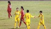 """Đội TPHCM I dễ dàng giành chiến thắng cách biệt trong trận """"derby TPHCM"""". Ảnh: Anh Trần"""