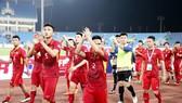 Dù lối chơi chưa thực sự mãn nhãn, nhưng quan trọng là Việt Nam đã sớm lấy vé dự VCK. Ảnh: MINH HOÀNG