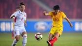 Đội tuyển nữ Việt Nam đang có chuyến tập huấn bổ ích tại Trung Quốc. Ảnh: ĐOÀN NHẬT