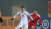 Quả bóng đồng VN 2017 Nguyễn Quang Hải đang gây ấn tượng ở VCK U23 châu Á 2018. Ảnh: ANH KHOA