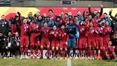 Qatar ra về với tấm Huy chương đồng. Ảnh: AFC