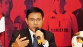 Chủ tịch HĐQT Công ty VPF Trần Anh Tú. Ảnh: HOÀNG HÙNG