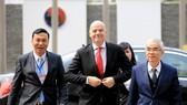Chuyến thăm Việt Nam mới đây của chủ tịch FIFA Gianni Infantino