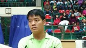 Trọng tài Dương Ngọc Tân (ảnh trên trang cá nhân của trọng tài Tân)