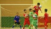 Trận tranh chung kết giữa Hà Nội (áo đỏ) và TPHCM