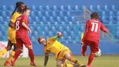 Dù rất cố gắng nhưng các cô gái Việt Nam đã không gây bất ngờ trước Australia