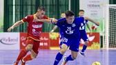 CLB Thái Sơn Nam trong trận thắng Tân Hiệp Hưng ở vòng 11. Ảnh: HOÀNG QUÂN