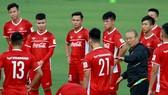 Việt Nam thua trận đầu tiên tại Hàn Quốc. Ảnh: MINH HOÀNG