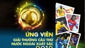 Danh sách ứng viên giải Cầu thủ nước ngoài xuất sắc