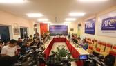 VFF gặp gỡ giới truyền thông sau Hội nghị chiều 7-12. Ảnh: MINH HOÀNG