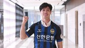Công Phượng trong màu áo CLB Incheon