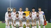 Đội U19 nữ Việt Nam. Ảnh: Đoàn Nhật