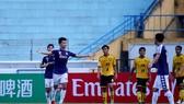 CLB Hà Nội thắng dễ Tampines Rovers. Ảnh: MINH HOÀNG
