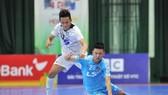 Thái Sơn Nam thắng trận thứ 3 liên tiếp để lấy lại ngôi đầu bảng. Ảnh: Nguyễn Nhân