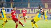 Khánh Hòa đã có trận đấu hay nhất từ đầu mùa. Ảnh: Hoàng Minh Nguyệt