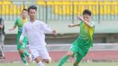 Cuộc so tài giữa Cần Thơ và An Giang ở mùa bóng 2019. Ảnh: Dương Thu
