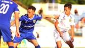 Sân thi đấu trận chung kết Cúp QG sẽ được xác định sau trận bán kết giữa B.Bình Dương và Quảng Nam. Ảnh: Viết Định