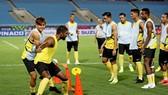 ĐT Malaysia hạ quyết tâm giành điểm trên sân Mỹ Đình ngày 10-10 tới. Ảnh: Minh Hoàng