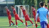 Đội tuyển U22 Việt Nam đang chạy đua cùng thời gian. Ảnh: Minh Hoàng