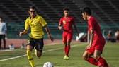 Malaysia phải chia điểm với Myanmar. Ảnh: FAM
