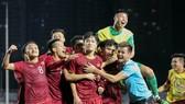 Việt Nam ngược dòng giành chiến thắng trước Indonesia. Ảnh: Dũng Phương
