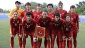 Đội tuyển nữ Việt Nam giành vé vào bán kết. Ảnh: Đông Huyền