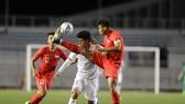 Đội Singapore gây thất vọng ở SEA Games 30. Ảnh: Dũng Phương