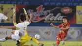 U20 Việt Nam thắng cách biệt 3-0 trước U20 Campuchia. Ảnh: NGUYỄN NHÂN