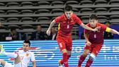 ĐT Futsal Việt Nam sẵn sàng cho mục tiêu tái chinh phục VCK Futsal World Cup. Ảnh: Anh Trần