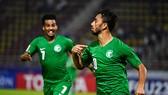 Al Khulaif, tác giả bàn mở tỷ số cho Saudi Arabia. Ảnh: AFC
