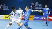 ĐT futsal Việt Nam vốn không lạ gì lối chơi của các đội thuộc khu vực Trung Á. Ảnh: Anh Trần