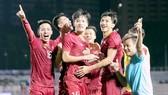 Đội tuyển Việt Nam tiếp tục đứng đầu Đông Nam Á. Ảnh: DŨNG PHƯƠNG
