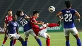 Than Quảng Ninh trong trận gặp Bali ở lượt đi.