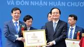 Trường ĐHSP Nghệ thuật Trung ương đón nhận Huân chương Lao động hạng Nhất