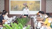 Chủ tịch UBND TPHCM Phan Văn Mãi thăm, động viên lực lượng vũ trang tham gia phòng chống dịch