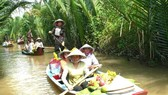 Number of visitors to Mekong Delta provinces sharply increases