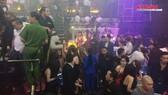 Nhiều nam, nữ phê ma túy tại quán bar 030X8 quận 1