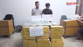 Chặt đứt đường dây vận chuyển 600.000 viên ma túy và 36 bánh heroin từ Lào về Việt Nam